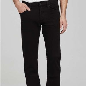 citizens of humanity core relaxed fit black jean
